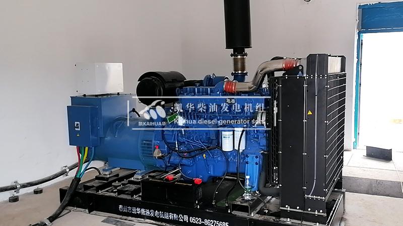 一台350kw玉柴柴油发电机组今日交付