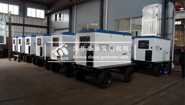 上海外企12臺發電電焊兩用機組今日成功出廠