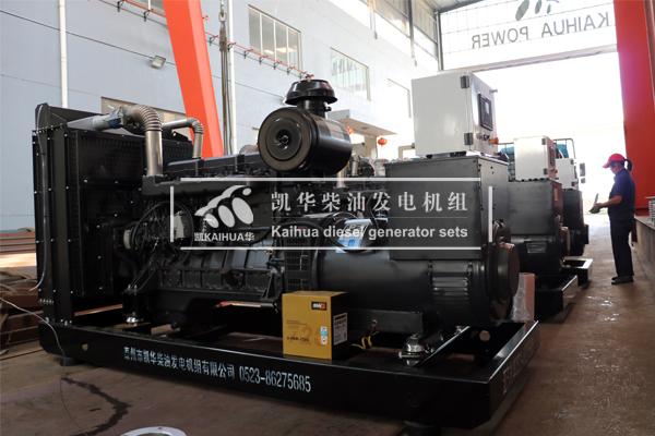 3台300KW上柴动力发电机组发货