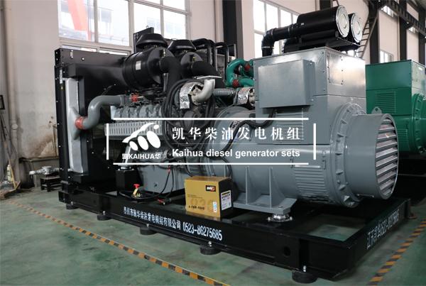 640KW威曼柴油发电机组检测出厂