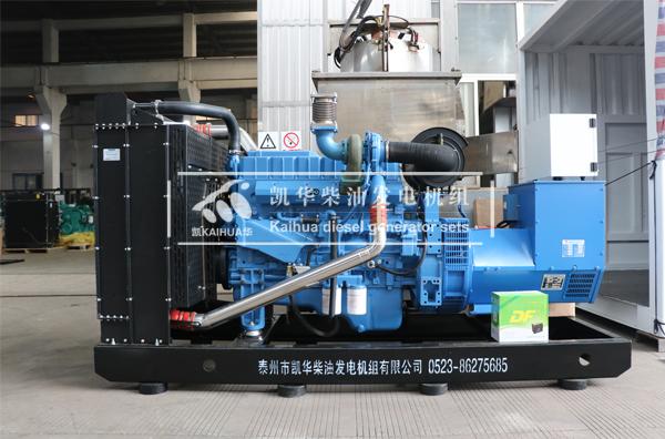 200KW广西玉柴柴油发电机组出厂