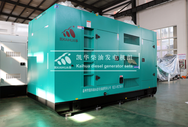 400KW玉柴静音发电机组调试出厂
