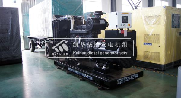 120KW上柴柴油发电机组技术参数