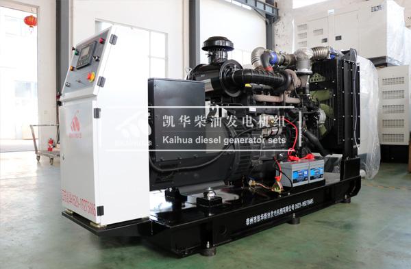 200KW上柴柴油发电机组发往吉林