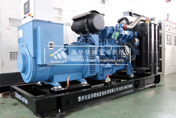河南300KW玉柴柴油发电机组今日成功出厂