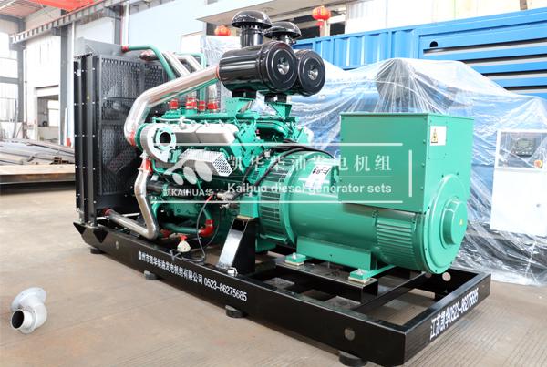 烟台500KW乾能柴油发电机组今日成功出厂